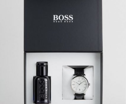 BOSS By Hugo Boss Watch & Fragrance Gift Set