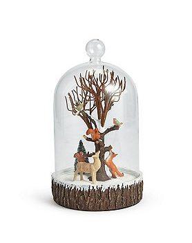 Forest Scene In Bell Jar